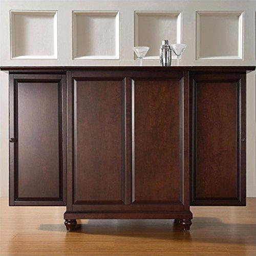 Crosley Furniture Cambridge Expandable Top Bar Cabinet - ...