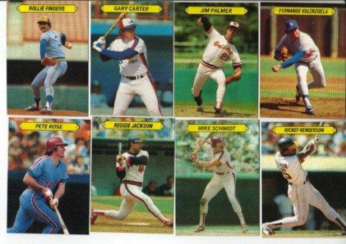 1983 Topps Rare Blank Back Baseball Card Set