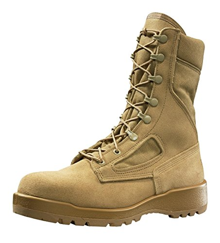 Belleville 340 Hot Weather Flight & Combat Vehicle Boot, Desert Tan, Size 3