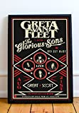 Greta Van Fleet Limited Poster Artwork - Professional Wall Art Merchandise (More (8x10)