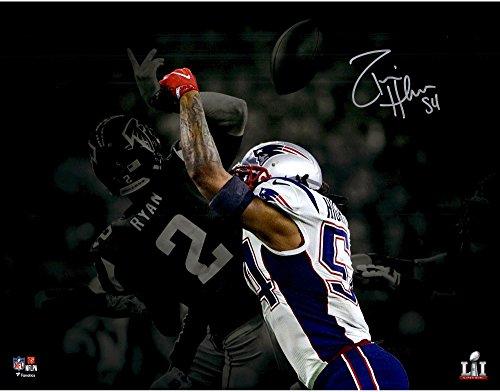Donta Hightower New England Patriots Autographed 11  X 14  Super Bowl Li Champions Spotlight Photograph   Fanatics Authentic Certified