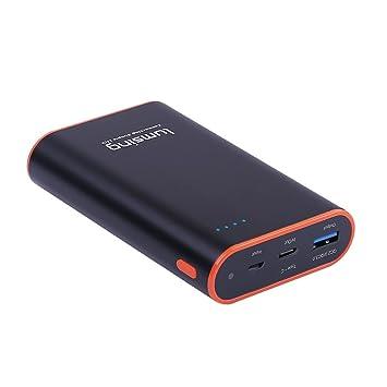 Lumsing Batería externa 10050mAh Quick Charge 3.0 Tipo-C, Cargador portátil externo, Power bank para iPhones, iPads, Samsung Galaxy, Android y otros ...