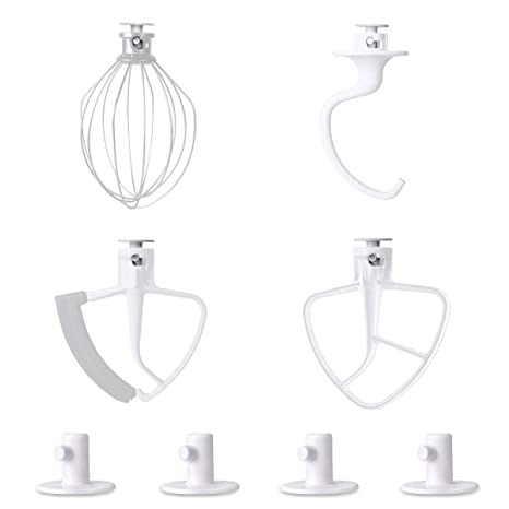 Lanmu Holder For Kitchenaid Mixer Attachment Organizer Storage Stand Accessory Compatible With Kitchenaid Mixer Attachments 4pack
