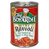 Chef Boyardee Mini Ravioli 15 Oz (Pack of 6)