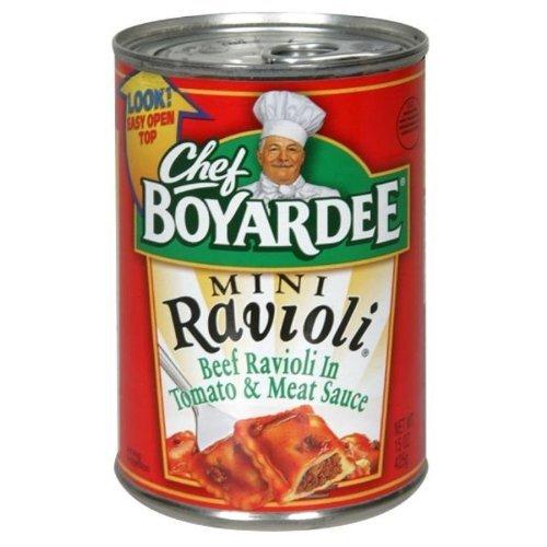 Chef Boyardee Mini Ravioli 15 Oz (Pack of 6) by Chef Boyardee