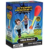 Stomp Rocket Ultra Rocket, 4 Rockets [Packaging May Vary]