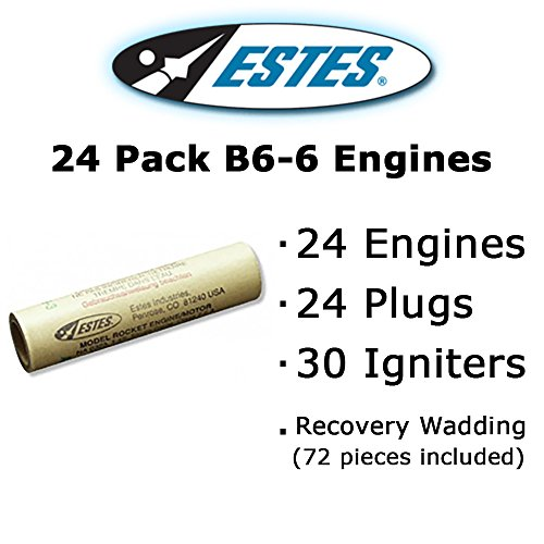 Estes B6-6 Model Rocket Engines (24 pack)