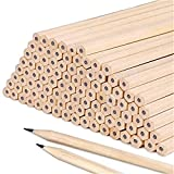 Vikenner 10 Pcs Natural Basic Wooden HB Pencils Graphite Hexagon Drawing Writing Stationery for Office School Students Supplies