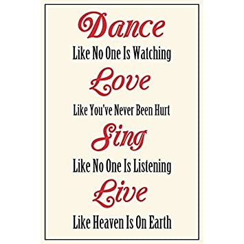 Amazoncom Meishe Art Modern Poster Print Inspirational Quotes