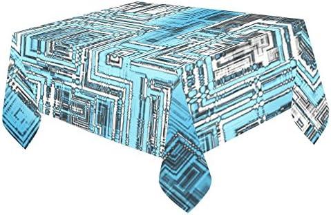 Happy más personalizado abstracto cuadrado arte pantalla para mesa ...