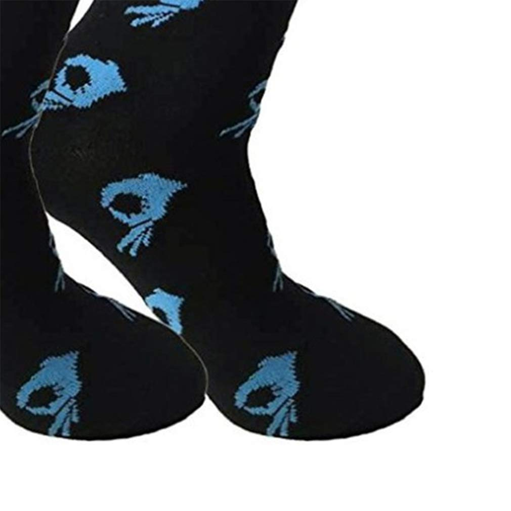2 Pairs Funny Novelty Crazy Crew Socks Casual Cotton Circle Game Meme Dress Socks for Men Women
