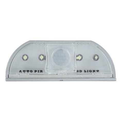 styleinside Automático Sensor De Movimiento Puerta Cerradura De Keyhole 4 LED Luz Lámpara
