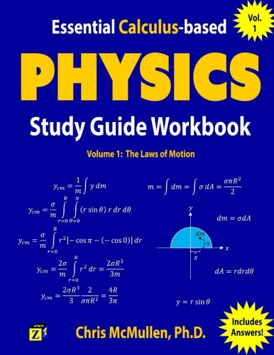88 best physics books of all time bookauthority book cover of chris mcmullen essential calculus based physics study guide workbook the fandeluxe Gallery