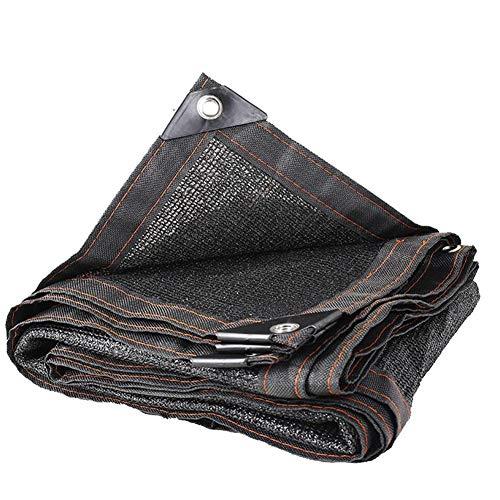 放棄する原理ビジネスLIXIONG オーニングシェード遮光ネット日焼け止め ブラック通気性折り畳み式シェードネット 抗UV 屋外 パティオ バルコニー 断熱 サイズはカスタマイズ可能です