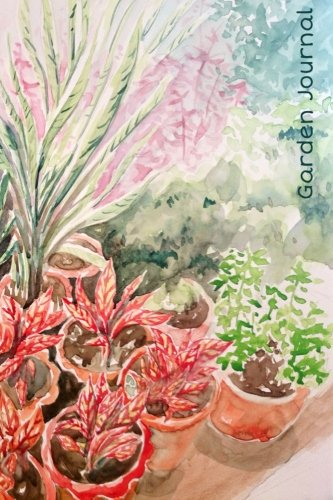 Read Online Garden Journal: Exotic Foliage Watercolor Gardening Journal, Lined Journal, Diary Notebook 6 x 9, 180 Pages (Gardening Journals) pdf epub