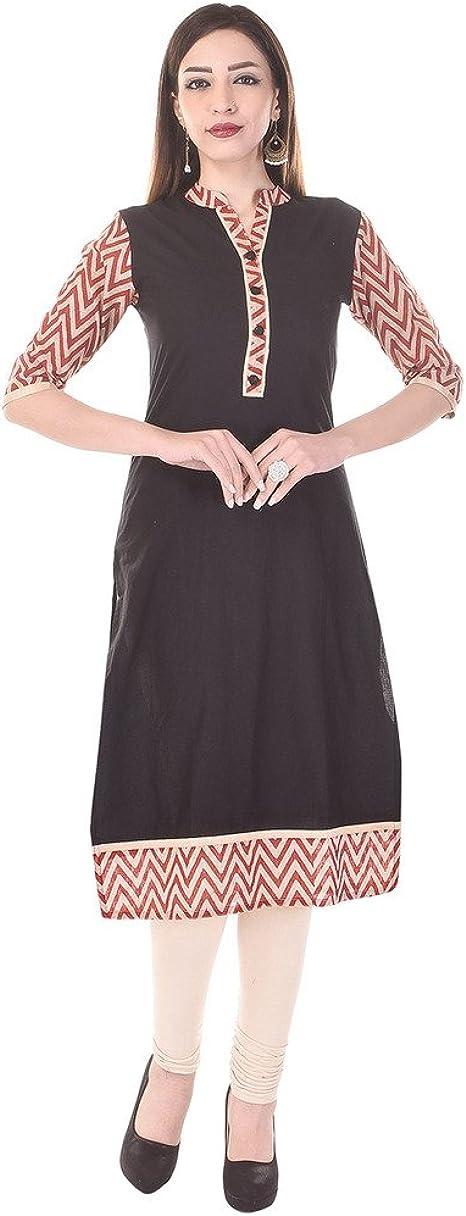 UB Fashion Cotton Printed Multicolor Casual Wear Kurti Ethnic Wear
