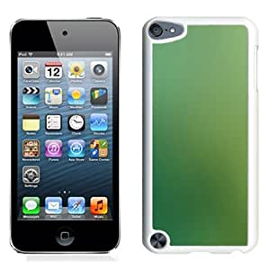 Unique Designed Cover Case For iPod 5 With Green Peace Love Nature Gradation Blur Wallpaper (2) Phone Case