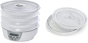 Presto 06301 Dehydro Digital Electric Food Dehydrator & 06306 Dehydro Electric Food Dehydrator Dehydrating Trays