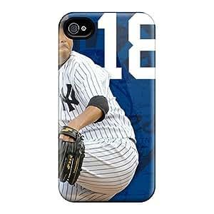 Anti-Scratch Hard Phone Case For iphone 6 4.7 (MVb5169nZuE) Customized Fashion New York Yankees Series