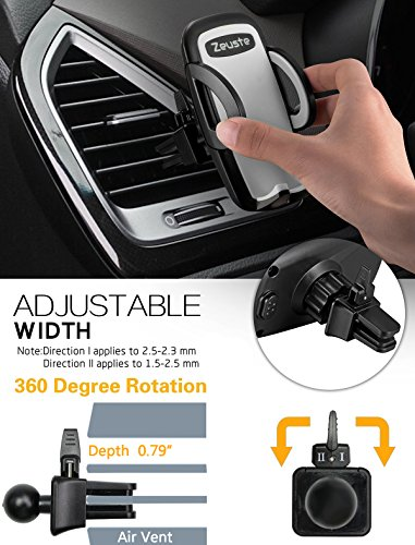 Zeuste universal car air vent mount holder 2