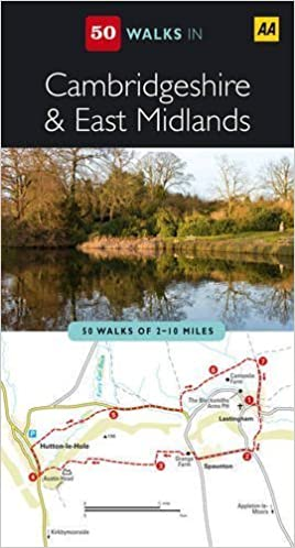 Book Cambridgeshire and East Midlands (AA 50 Walks Series) by AA Publishing (2009)