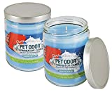 Maven Gifts: Specialty Pet Products Clothesline Fresh 13 Oz. Pet Odor Exterminator Candle 2-Pack