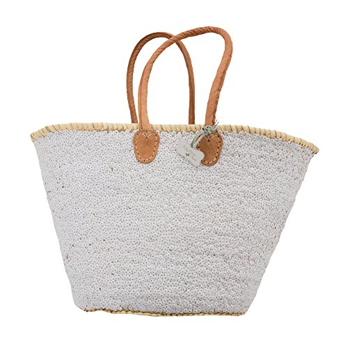Stella Sequin Basket White Sequin White Stella Basket qqRrw0
