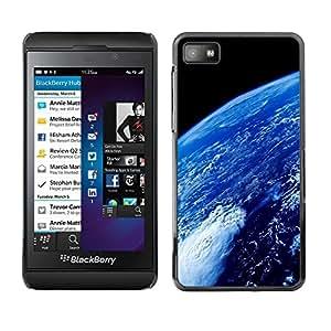TECHCASE**Cubierta de la caja de protección la piel dura para el ** Blackberry Z10 ** Earth Atmosphere Blue Planet Space Ocean