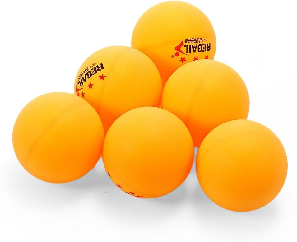 waterfaill 10 PCS Pelotas De Tenis De Mesa 40 Mm Pelotas De Ping Pong para Entrenamiento De Competici/ón Juegos para Adultos Y Ni/ños