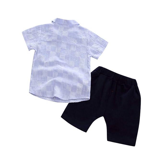 Mitlfuny Niños Recién Nacido Camisetas de Manga Corta Jeans Conjunto ...