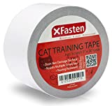 XFasten Anti-Scratch Cat Training Tape, 3-Inches x 30-Yards - Door, Couch, Furniture and Leather Scratch Guard Protector Tape For Cats and Pets