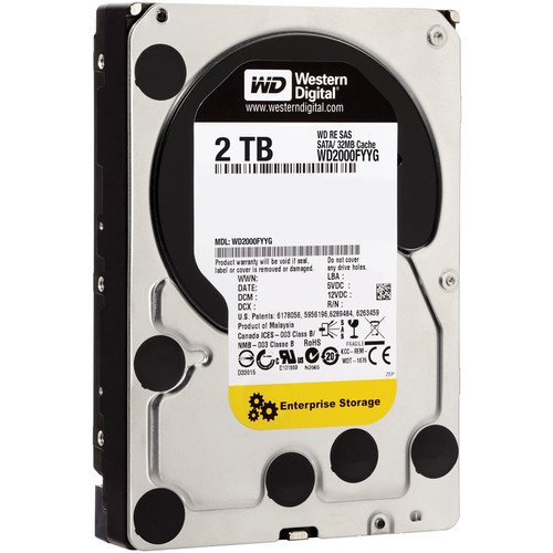 Western Digital RE SAS 2TB Enterprise Hard Drive 3.5