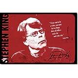 """Stephen King """"The Writer"""" Poster Fotografico (Con replica di Autografo) Rara Stampa Artistica Idea Regalo 30x20cm Cartellone"""