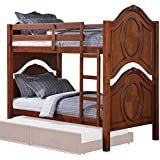Bowery Hill Twin over Twin Bunk Bed in Cherry