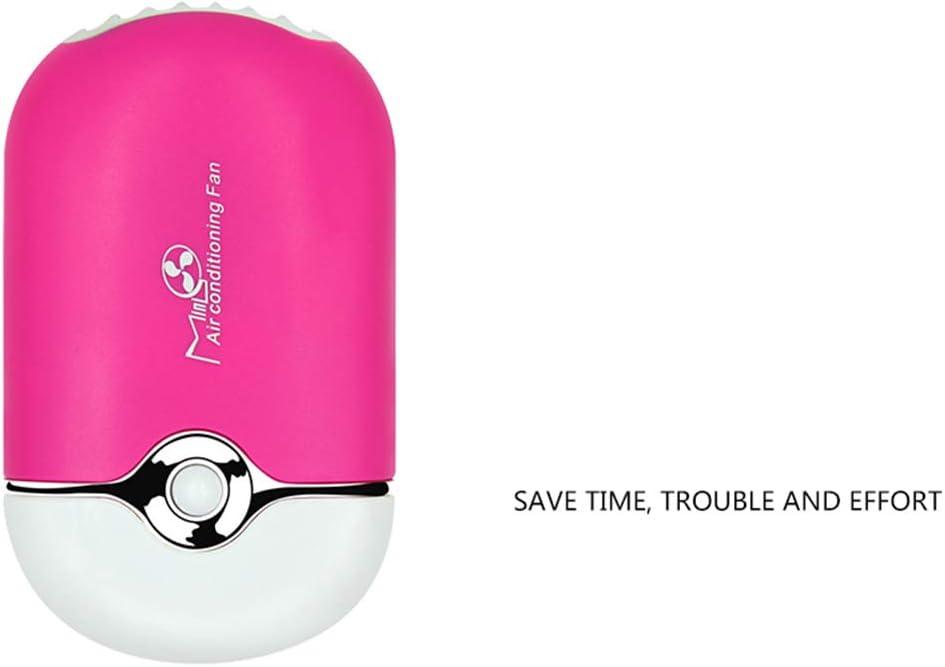 XRX USB Mini Fan Klimaanlage Gebl/äse F/ür Wimpernverl/ängerung Rose Red
