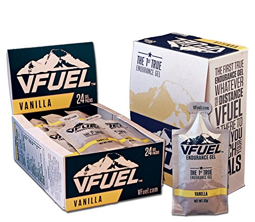 Vfuel Endurance Gel, Vanilla, 32 gm (24 Pack)