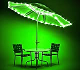 Brightz CanopyBrightz LED Tailgate Canopy and Patio Umbrella Accessory Lighting Kit (Lights Only), Green