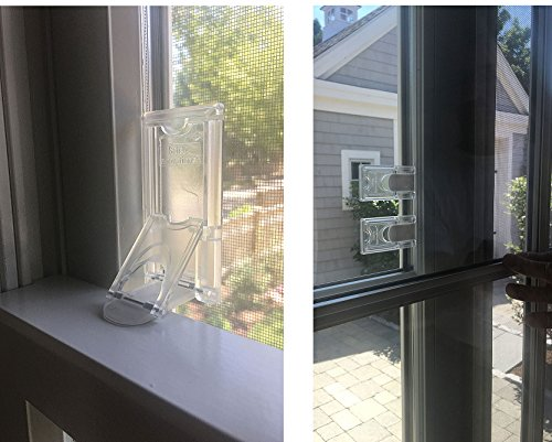 4-Pack-Childproof Your Windows and Sliding Doors with Our Window and Door Babyproof Safety Lock by Safety Innovations ()
