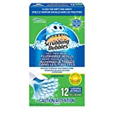 Scrubbing Bubbles Toilet Fresh Brush Flushable Refills - 12 Count