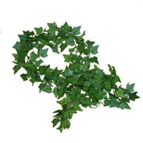 English Ivy Flowers - 192 Feet - 24 Artificial Ivy Artificial Vines Fake Hanging Ivy English ivy Silk Greenery Wedding Party Garlands