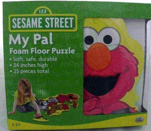 Sesame Street My Pal Elmo Foam Floor Puzzle