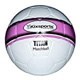Kixsports Titan Elite Match Soccer Ball - Professional Soccer Ball for High Performance Training & Match Play (Official International Specs) offers