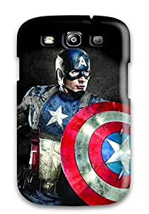 Perfect Fit SCezuHO1202rIGHk Captain America Poster Case For Galaxy - S3