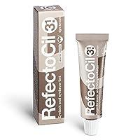 Tinte para el cabello RefectoCil Cream (LIGHT BROWN) .5 oz