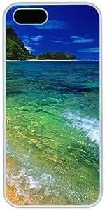 Tunnels Beach Kauai Hawaii Apple iPhone 5 5S Case, iPhone 5 5S Cases Hard Shell Cover Skin Cases