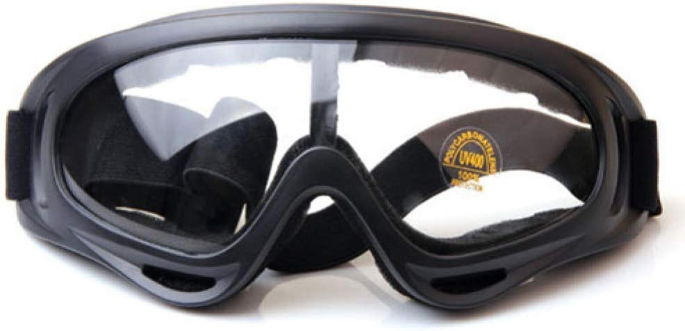 WTKONL Gafas Hombre Gafas de Sol windprood Google Gafas protección UV prevención Anti tormentas de Arena