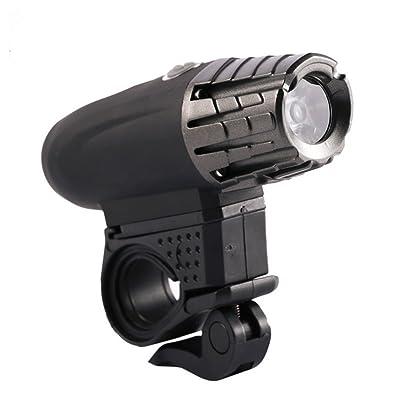 Éclairage Avant Vélo Étanche LED Phare Lampe pour Vélo USB Rechargeable Imperméable Pour VTT VTC Cycliste Camping Loisir
