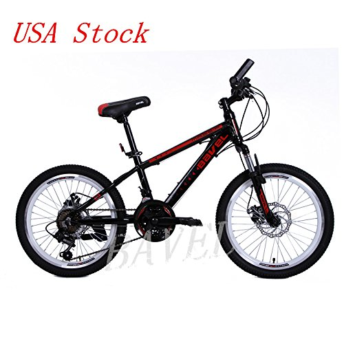 Bavel Children Kids Bicycle 18 Speed Complete Mountain Bike Aluminum ...