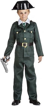 Kimokawaii Disfraz Guardia Civil Talla 5-6 AÑOS TAMAÑO Infantil ...