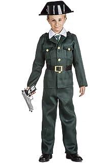 Kimokawaii Disfraz Guardia Civil Talla 10-12 AÑOS TAMAÑO Infantil ...